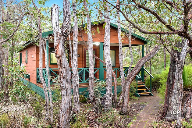 Chalet accommodation Margaret River